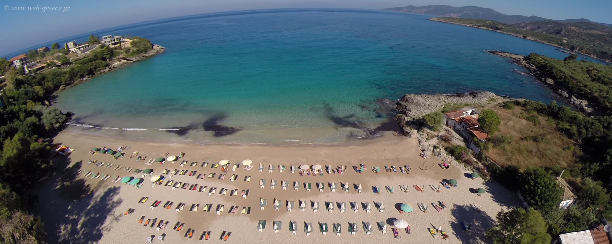 Kalogria Beach - Stoupa